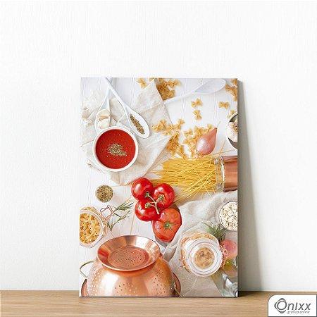 Placa Decorativa Pasta & Tomato