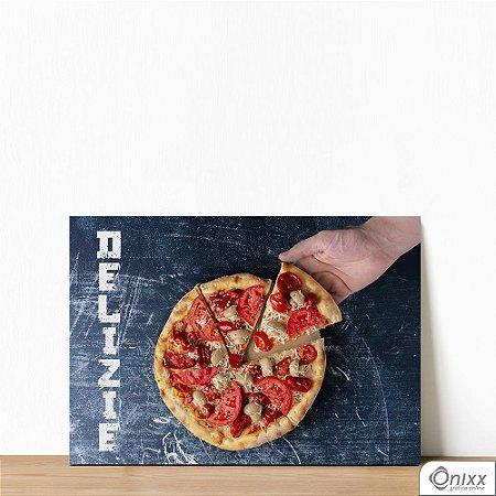 Placa Decorativa Delizie Pizza