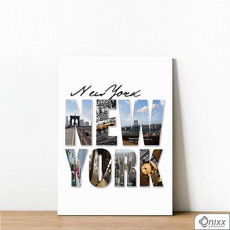 Placa Decorativa Flash´s New York