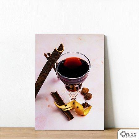 Placa Decorativa Drink Com Canela