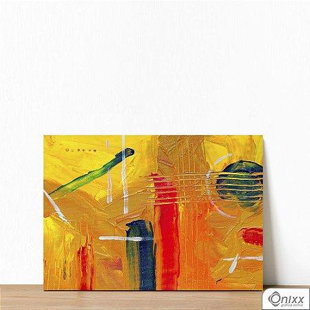 Placa Decorativa Yellow Artist