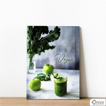 Placa Decorativa Green Food