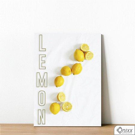 Placa Decorativa Lemon