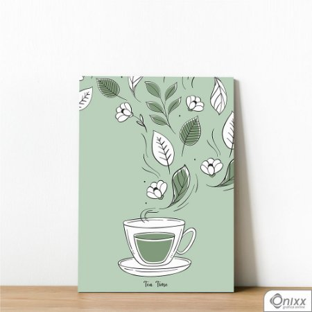 Placa Decorativa Tea Time