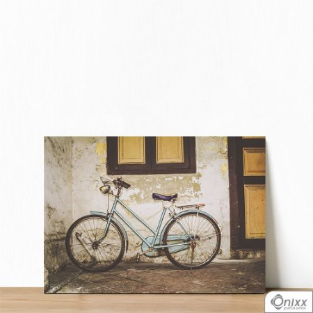 Placa Decorativa Bike Old Wall