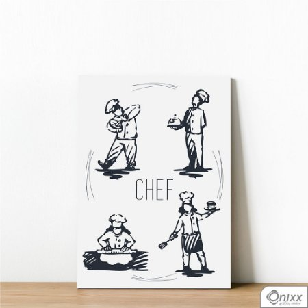 Placa Decorativa Chef