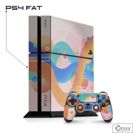 Skin PS4 Summer Colors