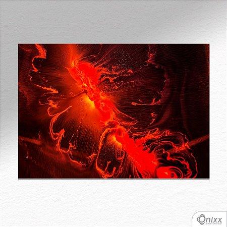 Placa Decorativa Série Color Expressive Magma A4