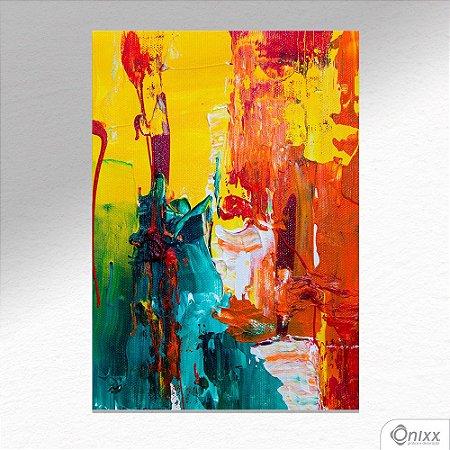 Placa Decorativa Colors Expressive A4