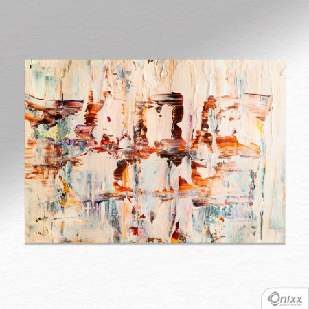 Placa Decorativa Ligth Colors Expressive A4