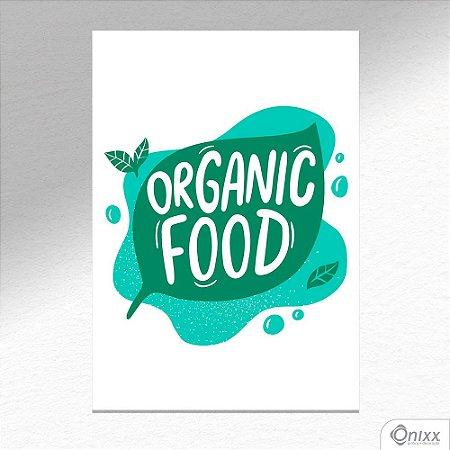 Placa Decorativa Série Cooking Colors ( Organic ) A4