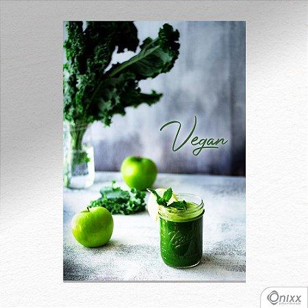 Placa Decorativa Green Food A4