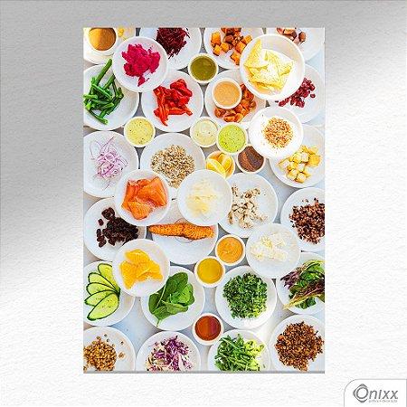 Placa Decorativa Série Spices Beauty Spices A4