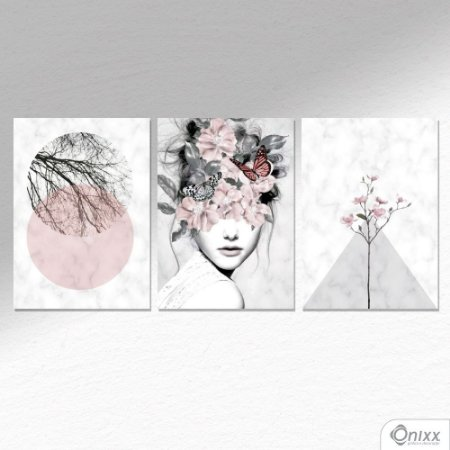 Kit De Placas Decorativas Conceptual A4