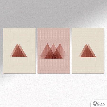 Kit de Placas Decorativas Poa Geometrico A4