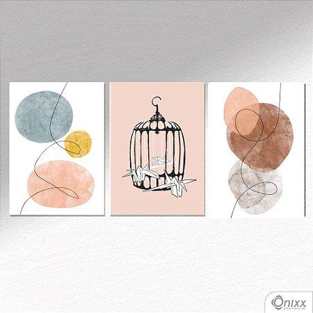 Kit de Placas Decorativas Freedom A4