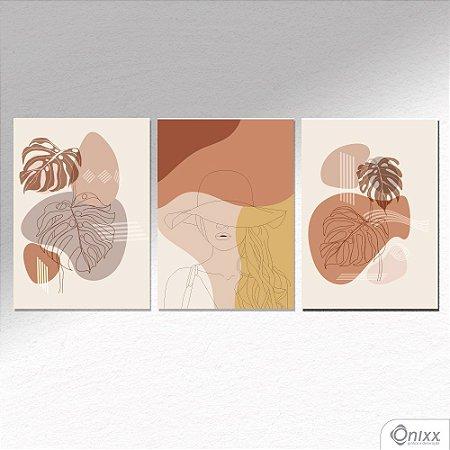 Kit de Placas Decorativas Tropical Beauty A4