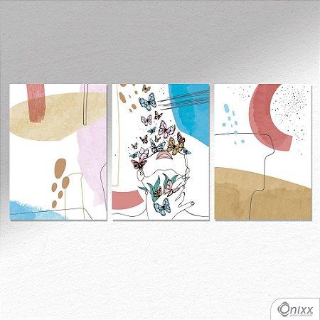 Kit de Placas Decorativas Flow  A4