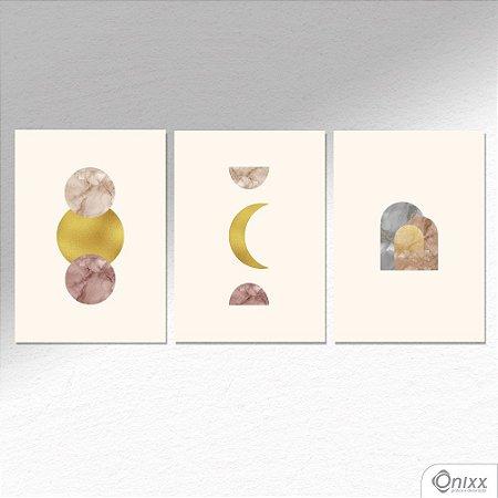 Kit de Placas Decorativas Luneterra  A4