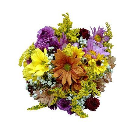 Mini Buquê com Flores do Campo Mistas