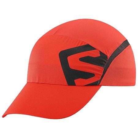 Boné Salomon XA Cap Vermelho