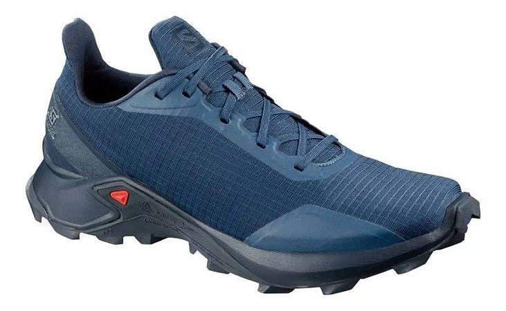 Tênis Trail Masculino Salomon Alphacross Azul