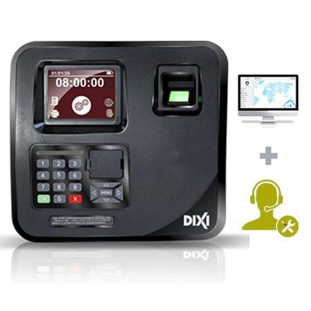 Relógio de Ponto Eletrônico Sindnox + Software + Suporte + Assistência - Plano Mensal Combo