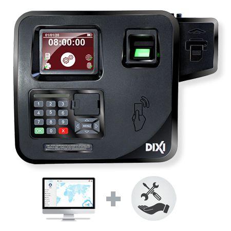 Relógio de Ponto Biométrico IREP + Software Dixi Gold  - Plano Mensal Combo