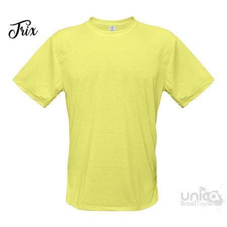 Camiseta Poliester - Amarelo Bebe