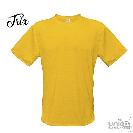 Camiseta Poliester - Amarelo Girasol