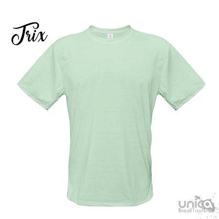 Camiseta Poliester - Verde Agua