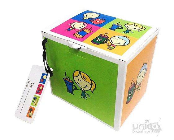Caixinha Para Caneca Infantil - 12 Unidades