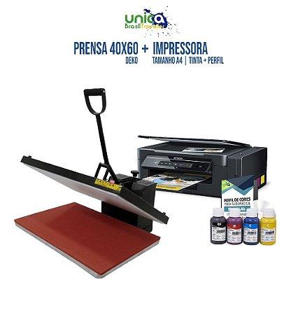 Prensa 40x60 Deko + Impressora