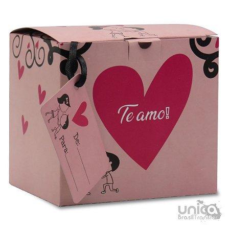Caixinha Para Caneca Namorados Te Amo - 12 Unidades