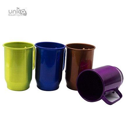 Caneca De Aluminio Colours - 600ml