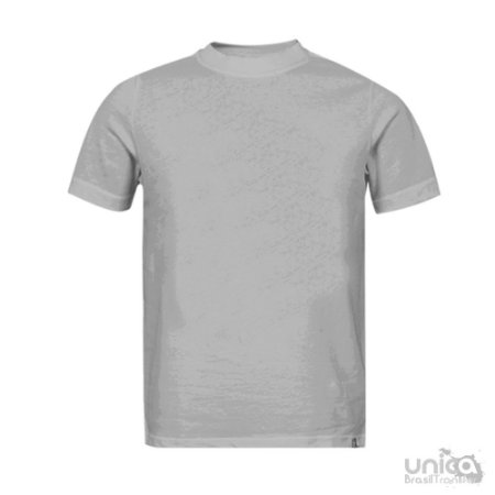 Camiseta Infantil Cinza Mescla - Trix