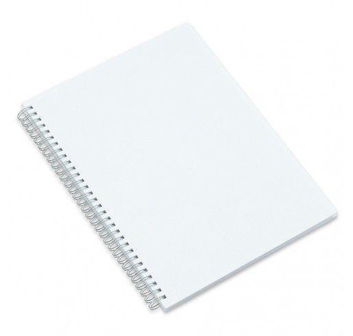 Caderno Grande com Capa Pet para Sublimação - 27,6x20,3 cm
