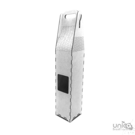 Porta Garrafa Resinado de MDF 29X21