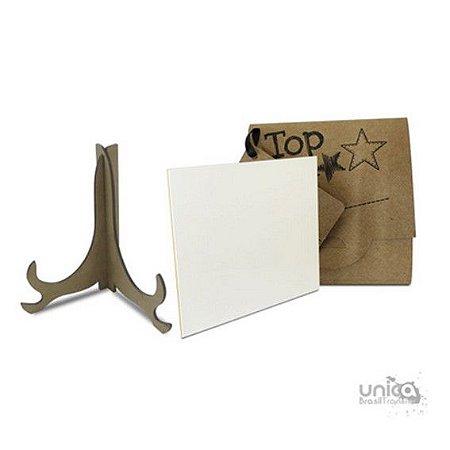 Kit Azulejo de Cerâmica 20x20 + Caixinha + Suporte