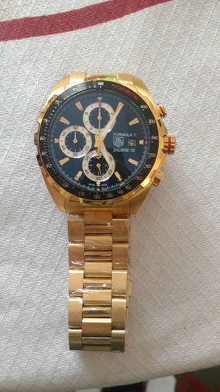 22bff006ca3 Réplica de Relógio Tag Heuer F1 Calibre 16 Dourado - Anchor Co Store