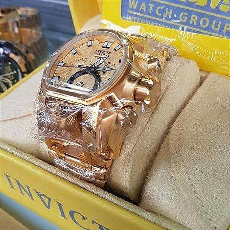 88dc527c215 Réplica de Relógio Invicta Bolt Zeus Magnum Rose - Anchor Co Store