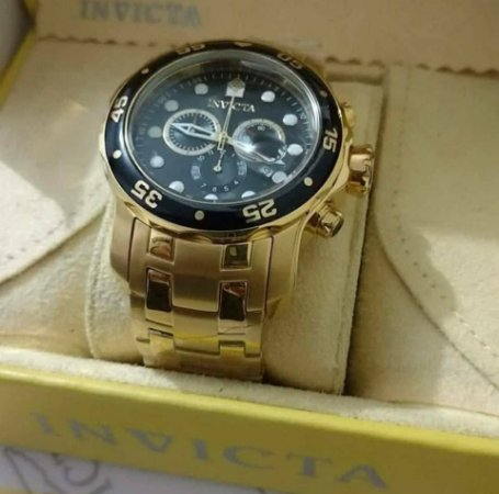b48d3d9e0be Réplica de Relógio Invicta Pro Diver Tritnite Dourado - Anchor Co Store