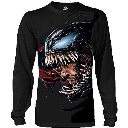 Camiseta Manga Longa Venom
