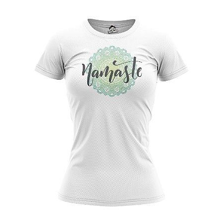 Camiseta Baby Look Namaste 2