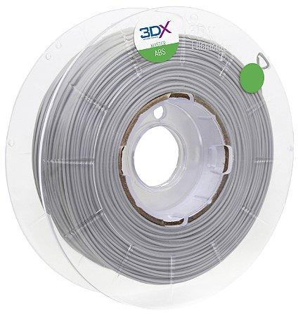 Filamento ABS FI 1kg 1,75 Cinza