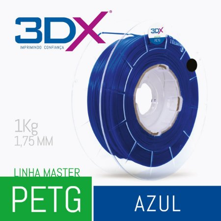 Filamento PETG 1Kg 1,75 Azul