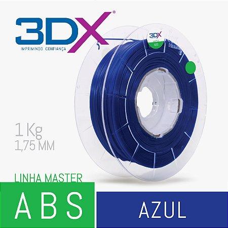 Filamento ABS 1kg 1,75 Azul