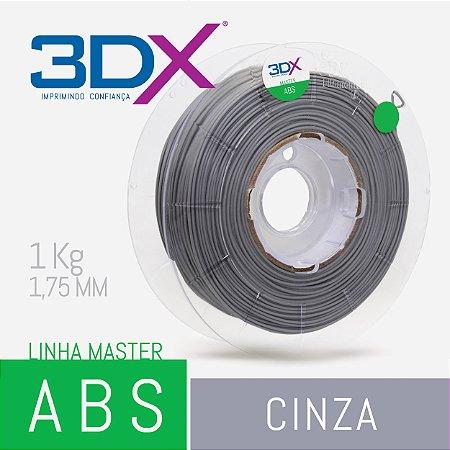 Filamento ABS 1kg 1,75 Cinza