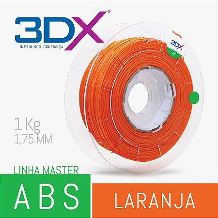 Filamento ABS 1kg 1,75 Laranja