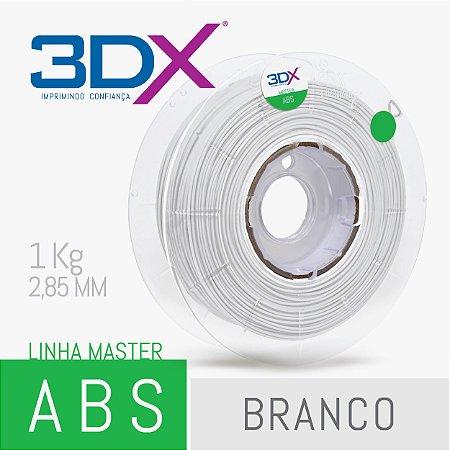 Filamento ABS 1kg 2,85 Branco